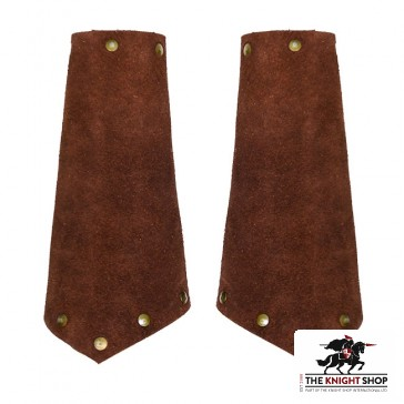 Suede Leather Vambraces
