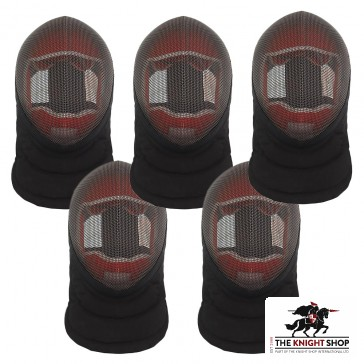 School Pack - Red Dragon Fencing Masks - 5 for £260