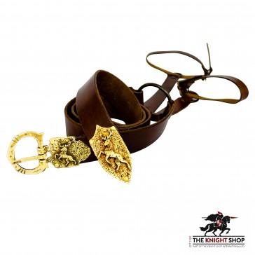 Order of the Stag Sword Belt - Antique Brass