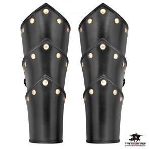 Swordsman Leather Vambraces