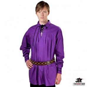 Swordsman's Shirt - Violet