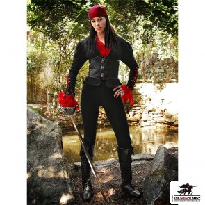 Women's Black Orchid Pirate Jacket
