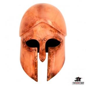 Greek Corinthian Helmet - Bronze