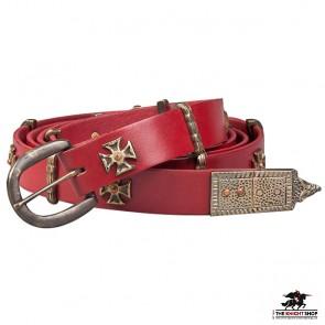 Templar Tunic Belt - Red
