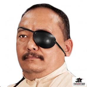 Leather Eye Patch - Left Eye