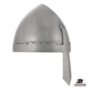 Wenceslas Style Nasal Helmet - 16 gauge
