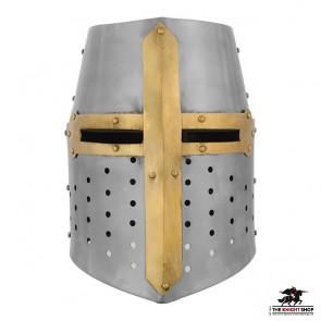 Crusader Helmet - 16 gauge