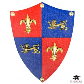 Royal England Shield - Letter Opener Wall Mount
