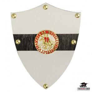 Knights Templar Shield - Letter Opener Wall Mount