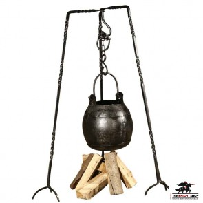 Medieval Cooking Tripod Stand