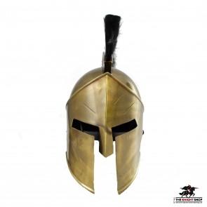 Greek Spartan Helmet With Plume