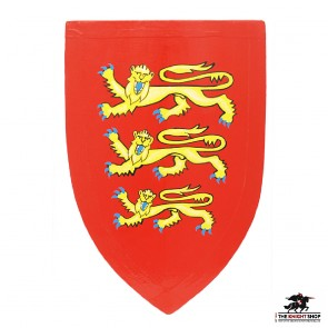 3 Lions of England Shield - Half Size