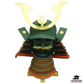 Oda Nabunaga Kabuto & Mempo (Samurai Helmet)