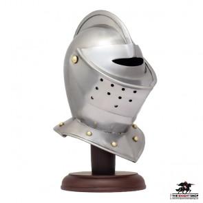 Miniature Close Helm