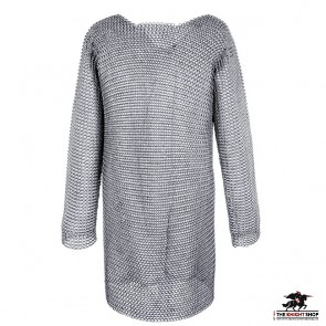"""Chainmail Hauberk - Dome Riveted - 64"""" Chest"""