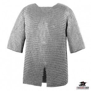 """Chainmail Haubergeon - Butted - 44"""" Chest"""