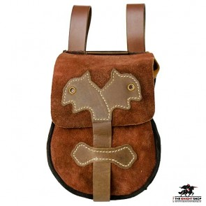 Viking Leather Belt Pouch (Bag)