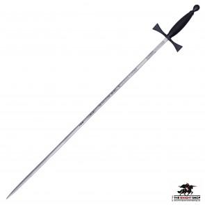DAMAGED-  Ceremonial Masonic Sword - Black