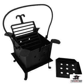 Medieval Square Fire Pit & Grill