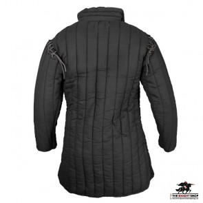 Laced Gambeson - Black