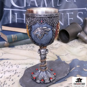 Game of Thrones House Sigil Goblet