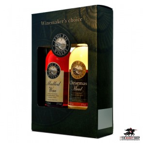 Mulled Wine & Christmas Mead Gift Box - 375ml