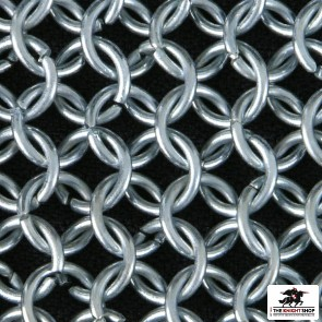 Chainmail Hauberk - Butted - Zinc Plated - 44