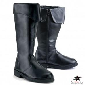 Ranger Medieval Boots - Black
