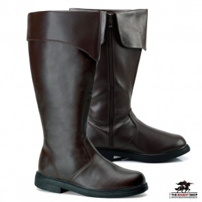 Ranger Medieval Boots - Brown