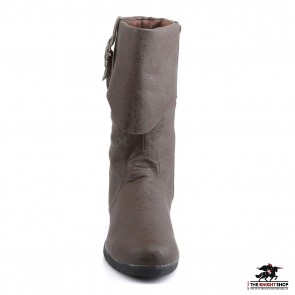 Caribbean Pirate Boots - Brown