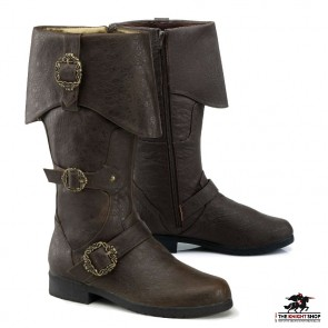 Pirate Captain Boots - Brown
