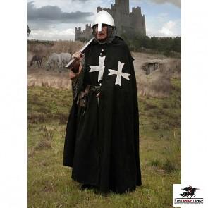 Hospitaller Cloak - Black