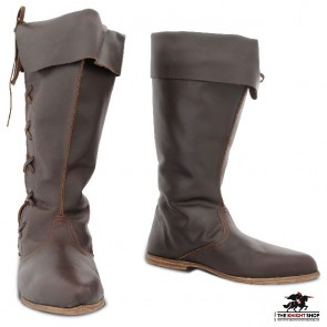 Medieval Knee-Length Medieval Boots