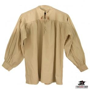 Multi Period Laced Shirt - Natural