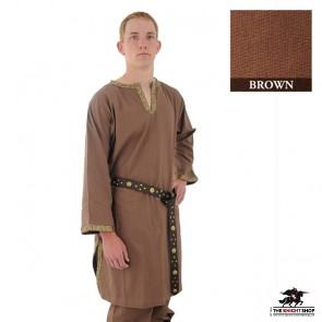 Viking Tunic Long Sleeve - Brown