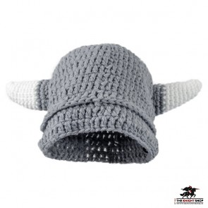 Knitted Viking Helmet Hat – Adult Size