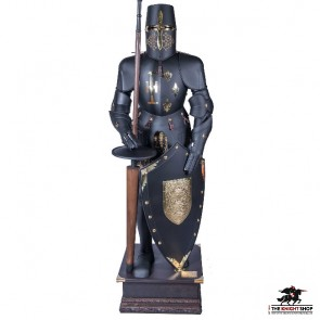 Black Knight Suit of Jousting Armour