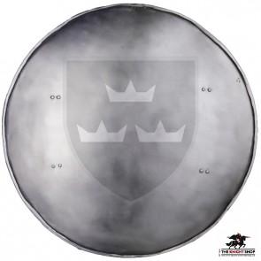 """21"""" Round Shield Rotella - 16 gauge"""
