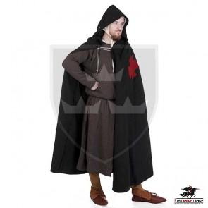 Templar Coat - Black
