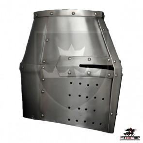 Crusader Great Helm - 16 gauge