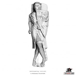 Richard Wellesburne De Montfort Framed Print