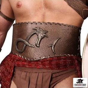 Spartacus Crixus Leather Belt