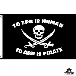 To Err is Human - Pirate Flag