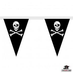 Skull & Crossbones Pirate Bunting - 5 metre