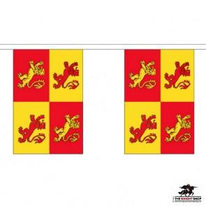 Welsh Owain Glyndwr Bunting - 9 metre