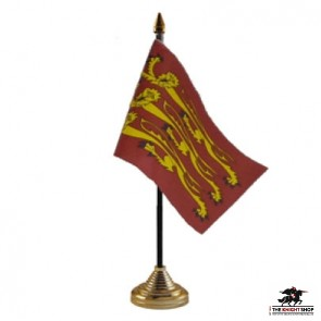 English 3 Lions Table/Hand Flags x12
