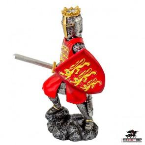 Edward I Figurine with Sword - 18cm