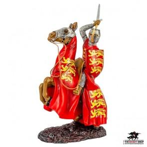 DAMAGED - Edward I on Horseback Figurine
