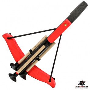 Small Wooden Crossbow - Black & Red