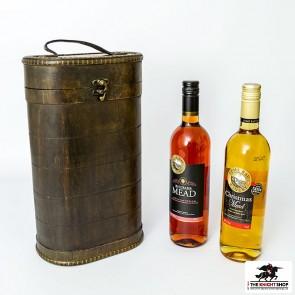 Double Royal Oak Wine Gift Box & 2 Bottles of Mead